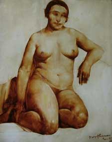 格里戈里古克曼俄罗斯画家Grigory Gluckmann  (Russian, 1898-1973) - 柳州文铮 - 柳州文铮股票数学模型对冲基金